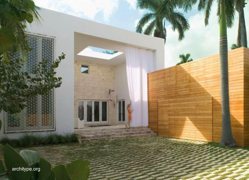 Arquitectura de casas moderna casa lujosa villa en miami for Casa moderna miami website