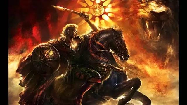 Eίμαι ο Αλέξανδρος ο Μακεδών  VIDEO Ω Αλέξανδρε.....
