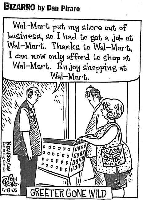 Walmart going green essay