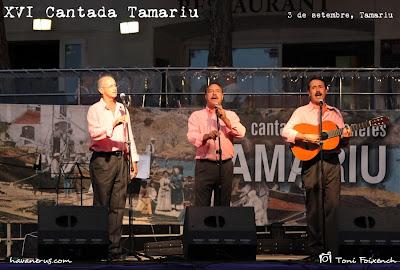 El grup Port Bo a la XVI Cantada d'havaneres de Tamariu
