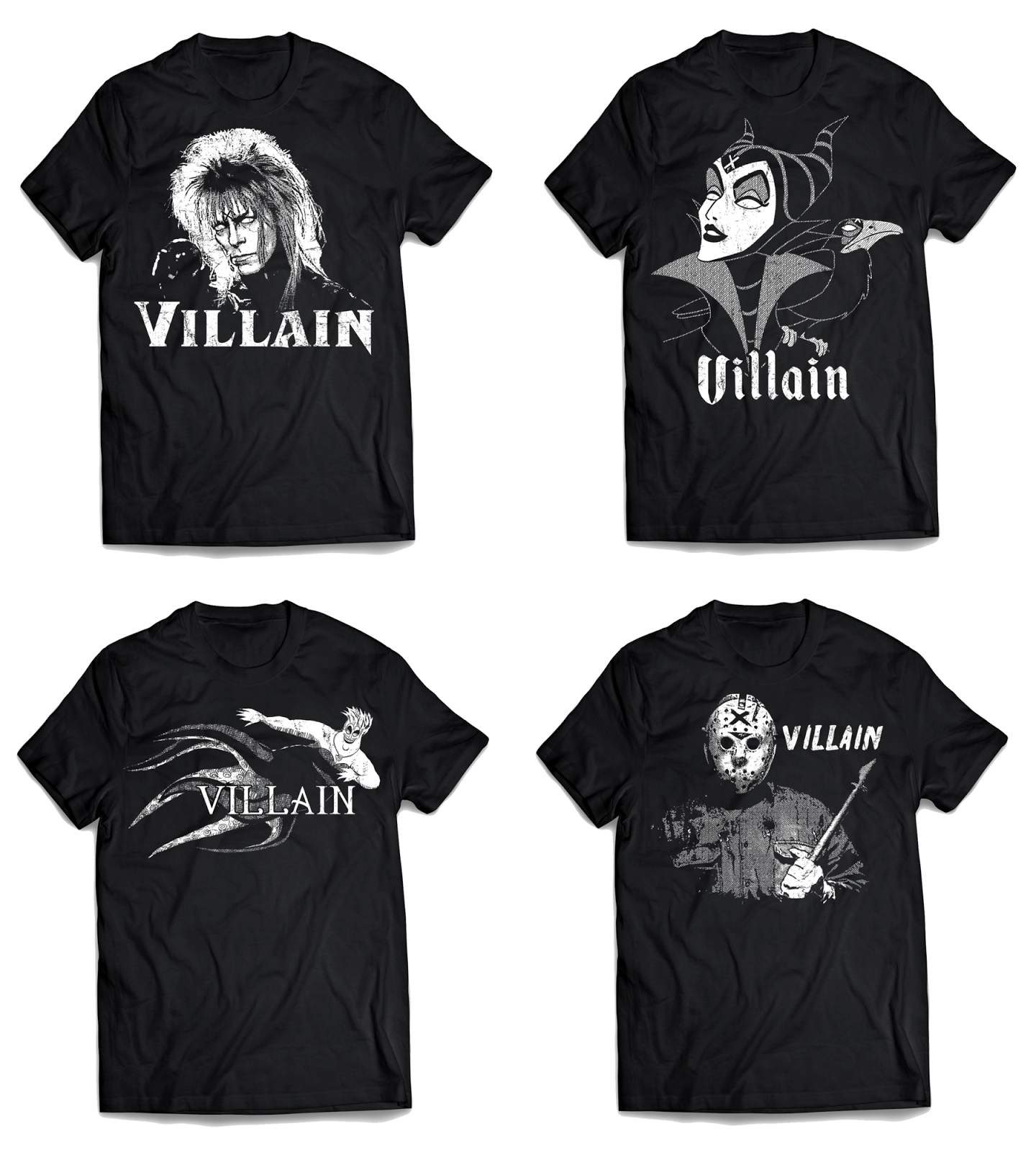 The Villain X Shirts T-Shirt Collection