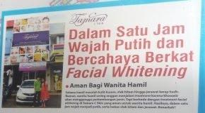 Dalam 1 Jam Wajah Putih dan Bercahaya berkat Facial Whitening,Klik Banner untuk Detail