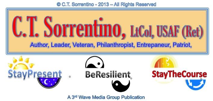 C.T. Sorrentino, LtCol, USAF (Ret)