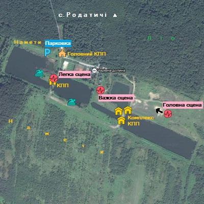 Фестиваль Захід. План-карта 2014.
