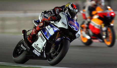 Hasil Balapan Motor GP Qatar 9 April 2012