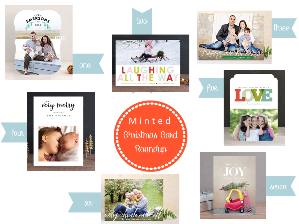 Smitten with Minted Christmas Cards