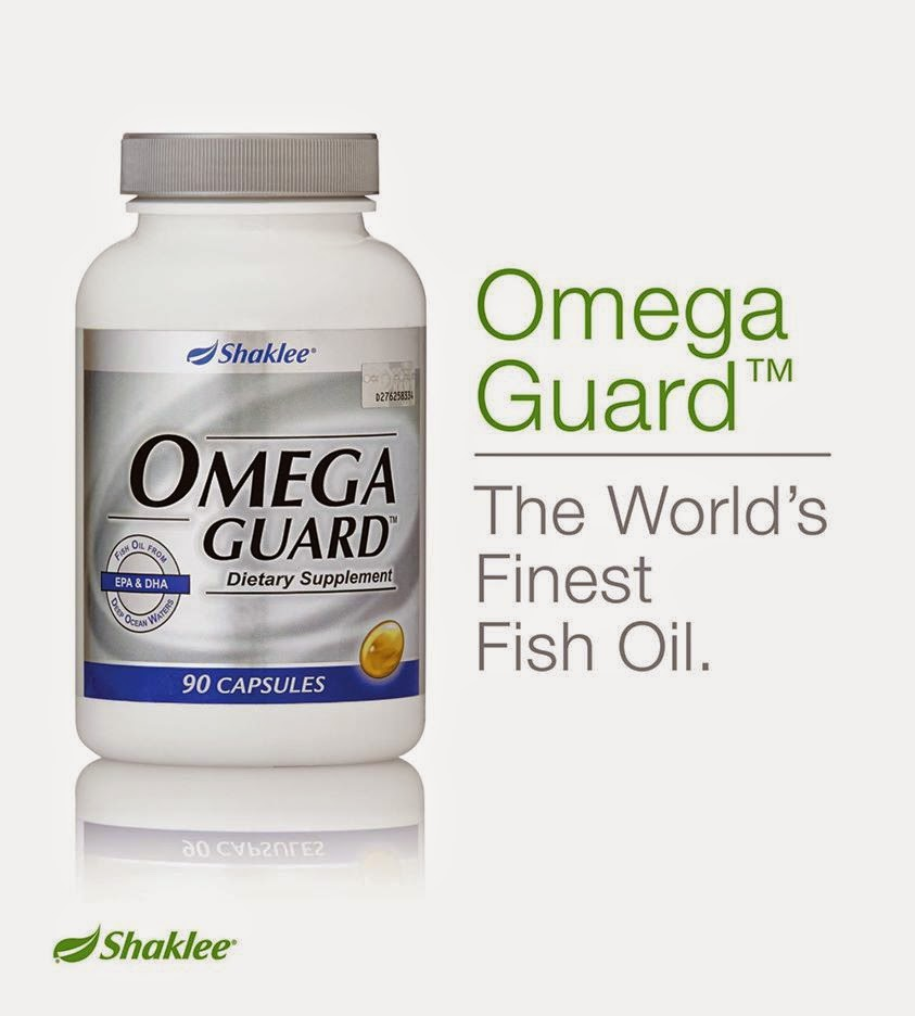 kehebatan omega guard shaklee