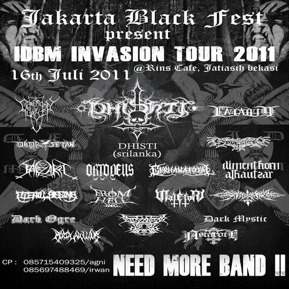 image Jakarta Black Fest 2011