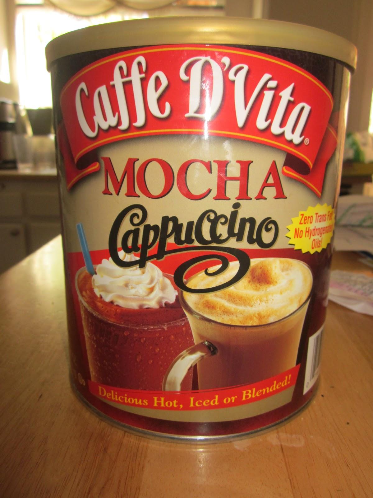 how to make homemade mocha cappuccino mix