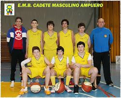 EMB Ampuero Cadete Masculino 2013/14
