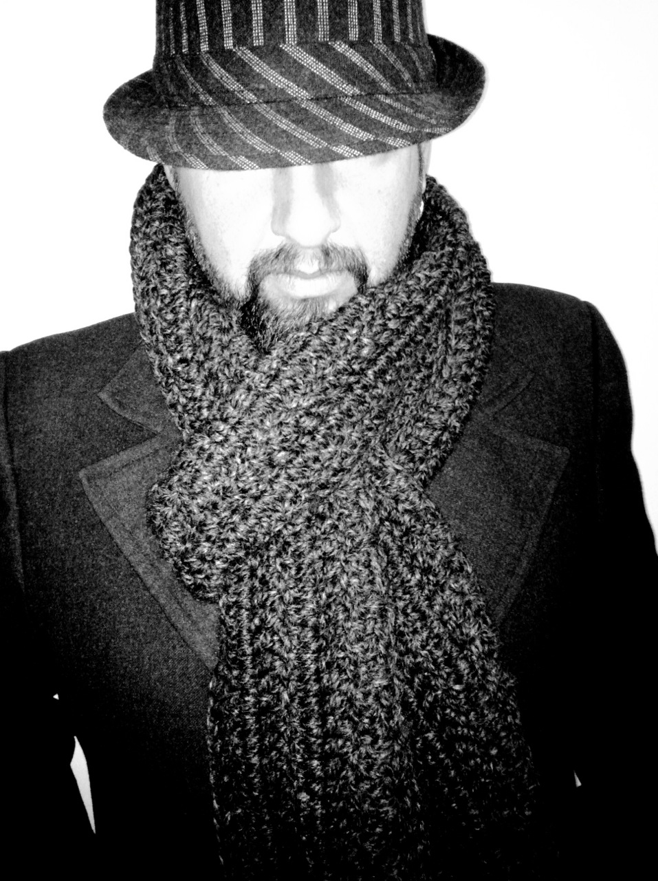 Crochet Scarf Pattern Male : WIDNEY WOMAN: Husband Scarf