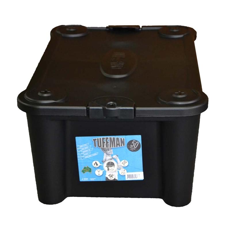 Bear-resistant Food Storage Container - Black Plastic Storage Boxes