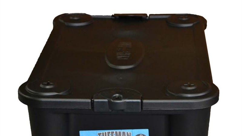 Delicieux Bear Resistant Food Storage Container   Black Plastic Storage Boxes