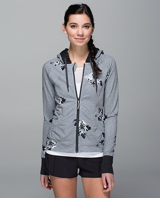 lululemon atomic flower movement hoodie