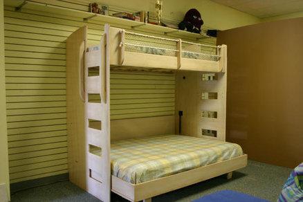 Custom Furniture Building Vintage Locker Murphy Bed Loft