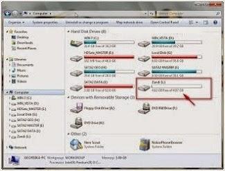 Cara Membuat Partisi/Membagi Hardisk Untuk Windows 7