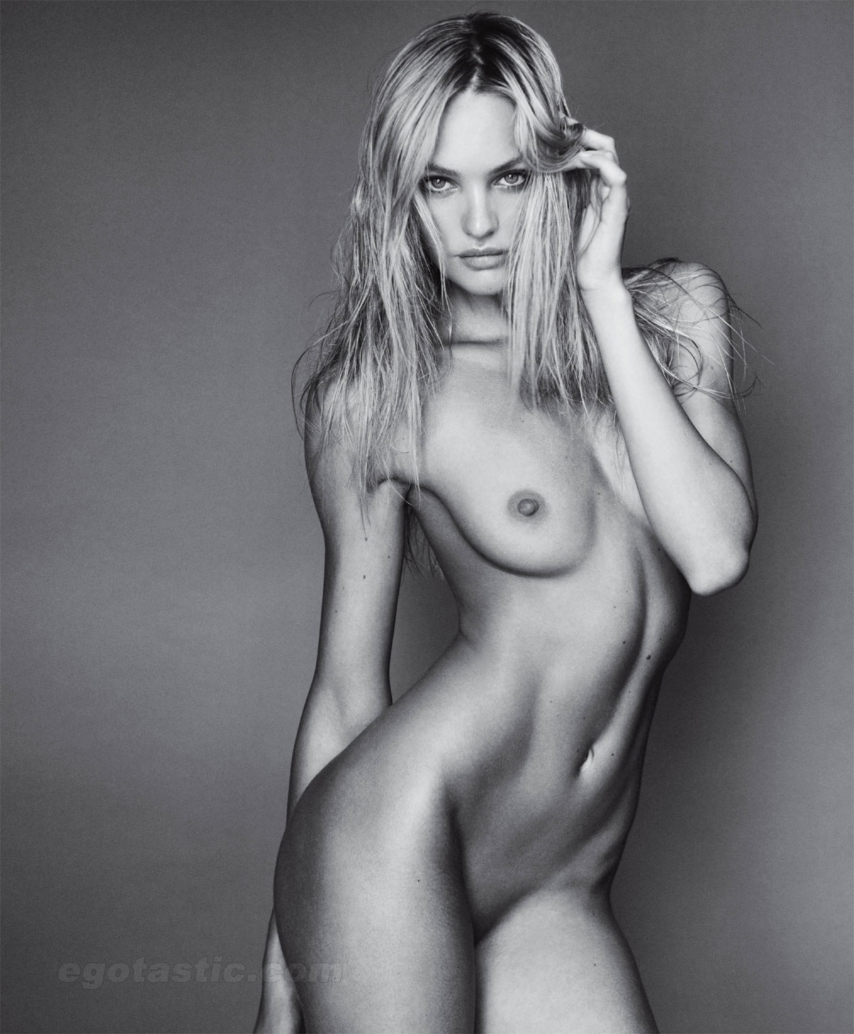 Candice Swanepoel Naked In Vman Magazine