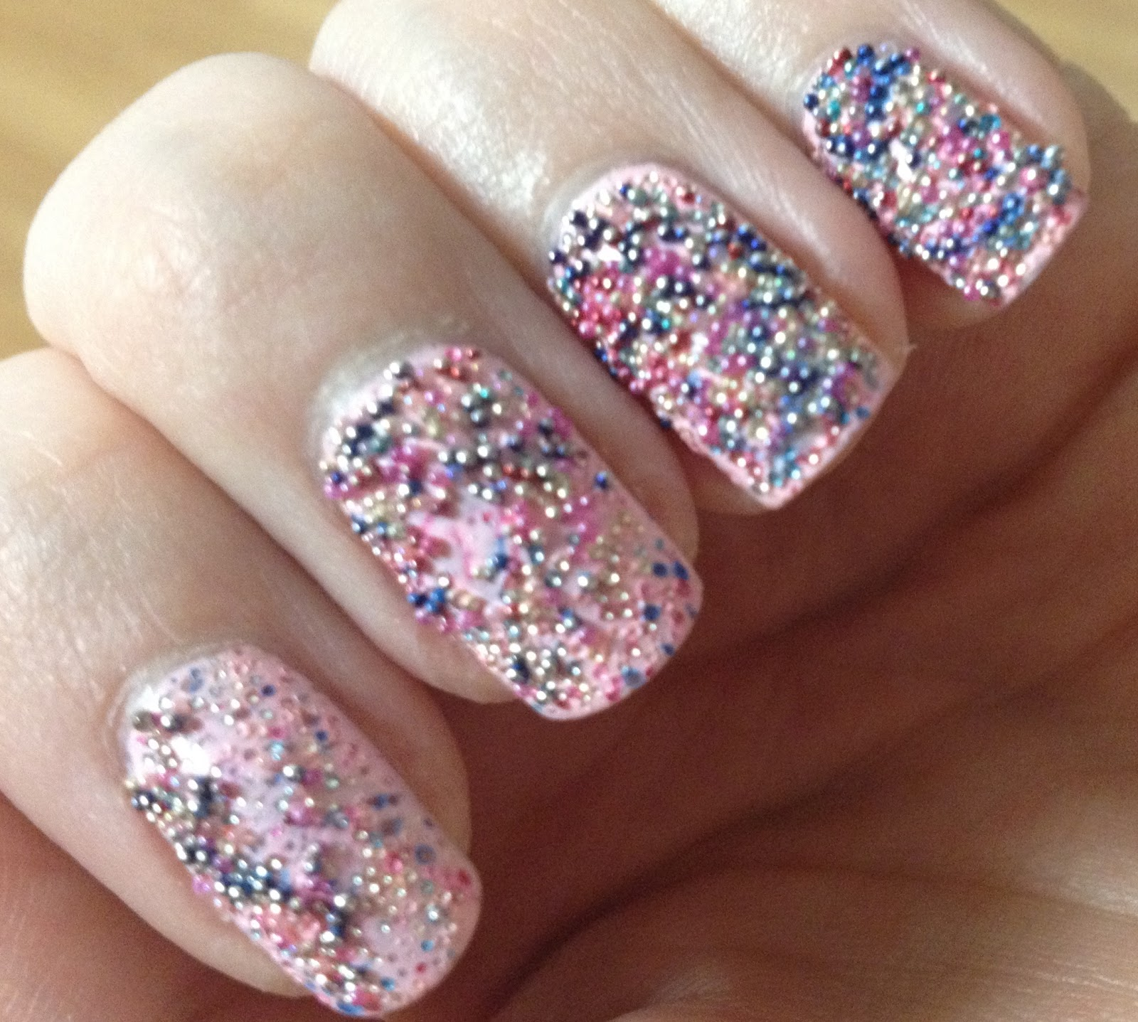 Nail Swatch: Ciate Caviar Manicure- Strawberry Milkshake/Rainbow ...