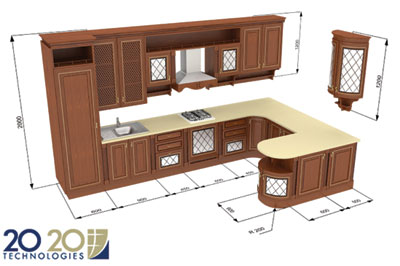 3d Movie Image 3d Kitchen