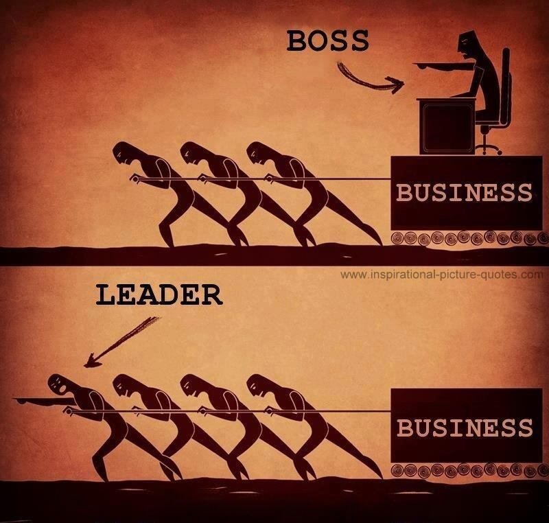 Leader Business Leader And Business