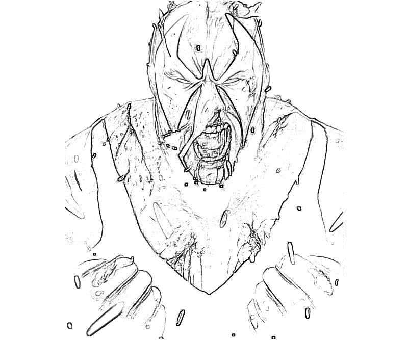 bane from batman coloring pages - photo#31