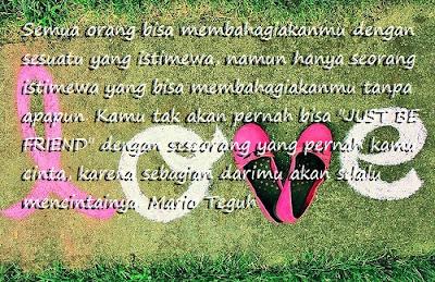 kata kata bijak Mario Teguh Tentang Cinta