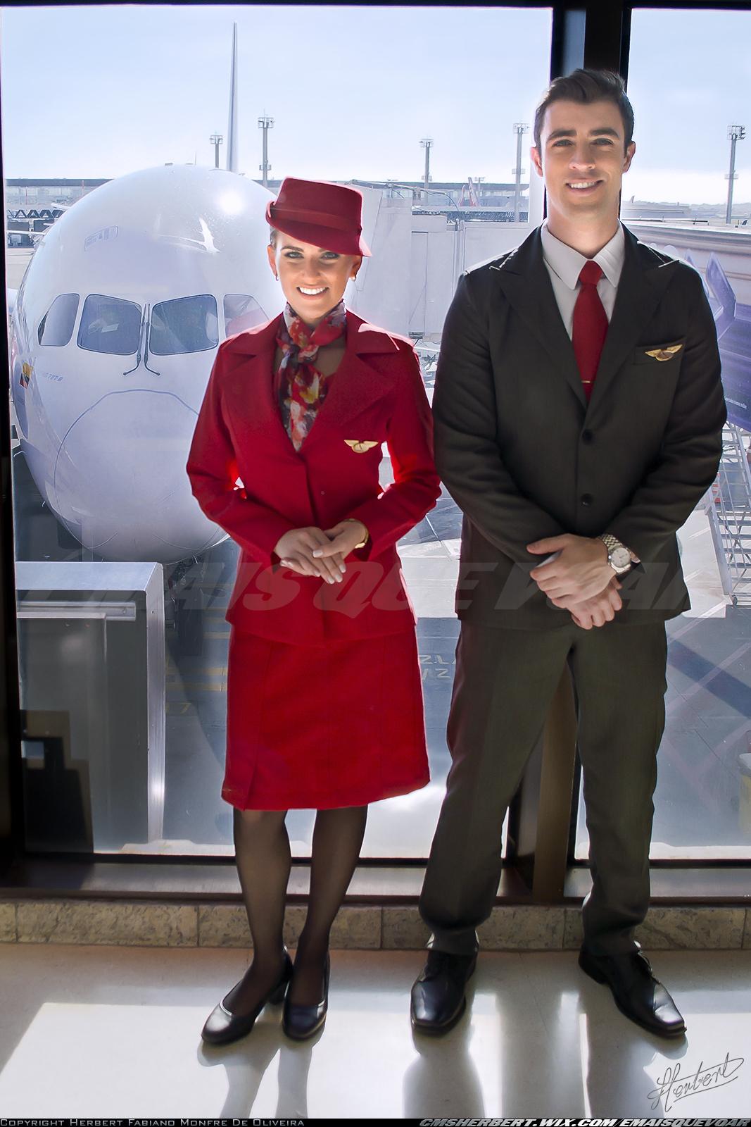 É MAIS QUE VOAR | Conheça o novo uniforme da Avianca Brasil - Foto © Herbert Monfre