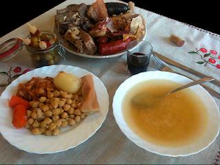 Cocina con Aníbal Cocido madrileño