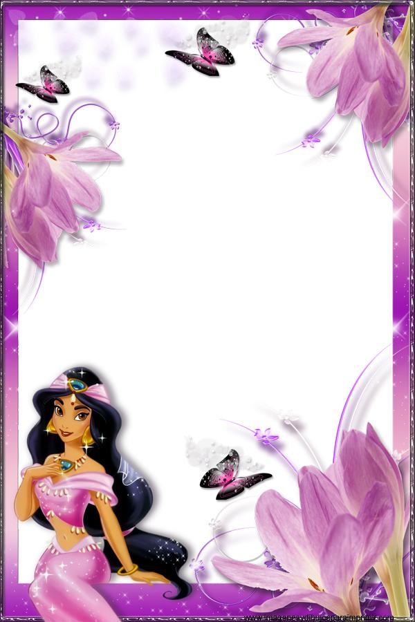 Marcos de fotos de princesas disney - Marcos para decorar ...