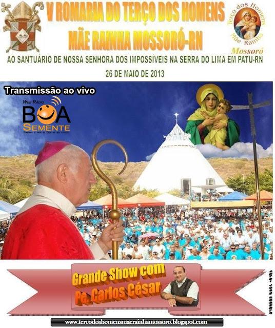 V Romaria do Terço dos Homens ao Santuário do Lima