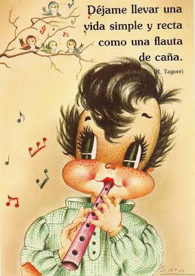postal retro años ochenta ilustración