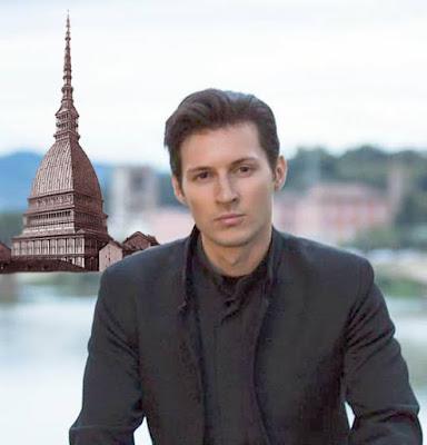 Pavel Durov Turin Italia Torino Vkontakte Telegram apps