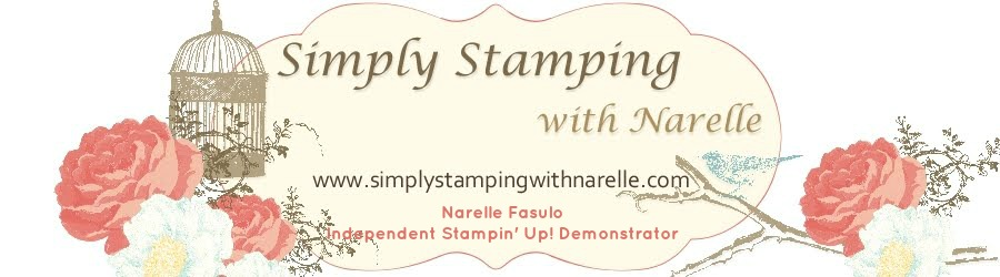 Simply Stamping with Narelle Fasulo - Card making classes using Stampin' Up!  in Sydney's North West