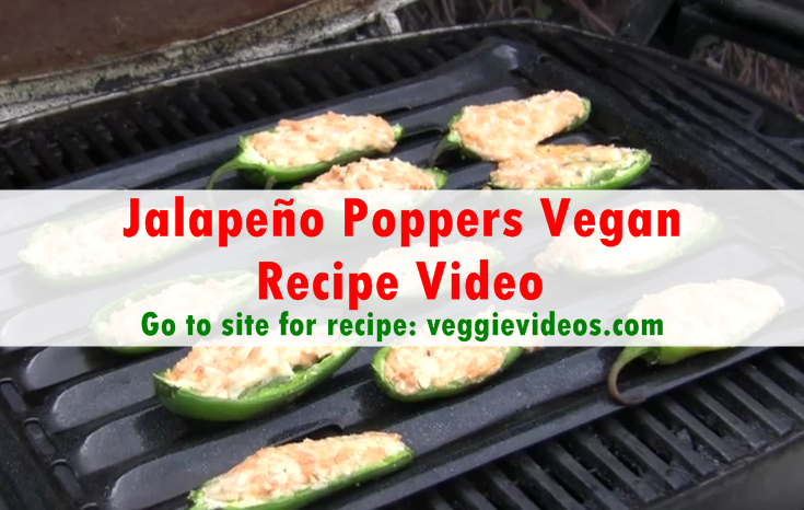 Jalapeño Poppers Vegan Recipe