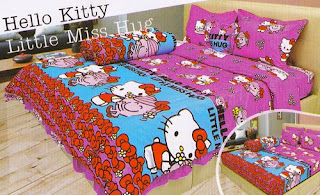 sprei Lady Rose Hello Kitty Little Miss Hug