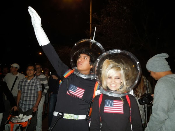astronauts West Hollywood Halloween