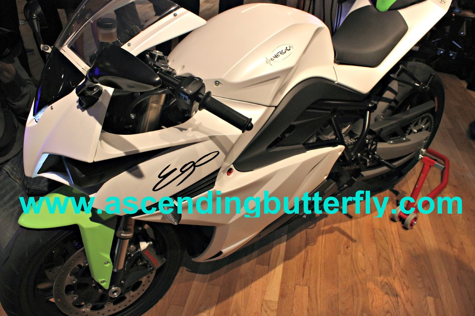 Energica Superbike at The Luxury Review in New York City 2014, motorcycle