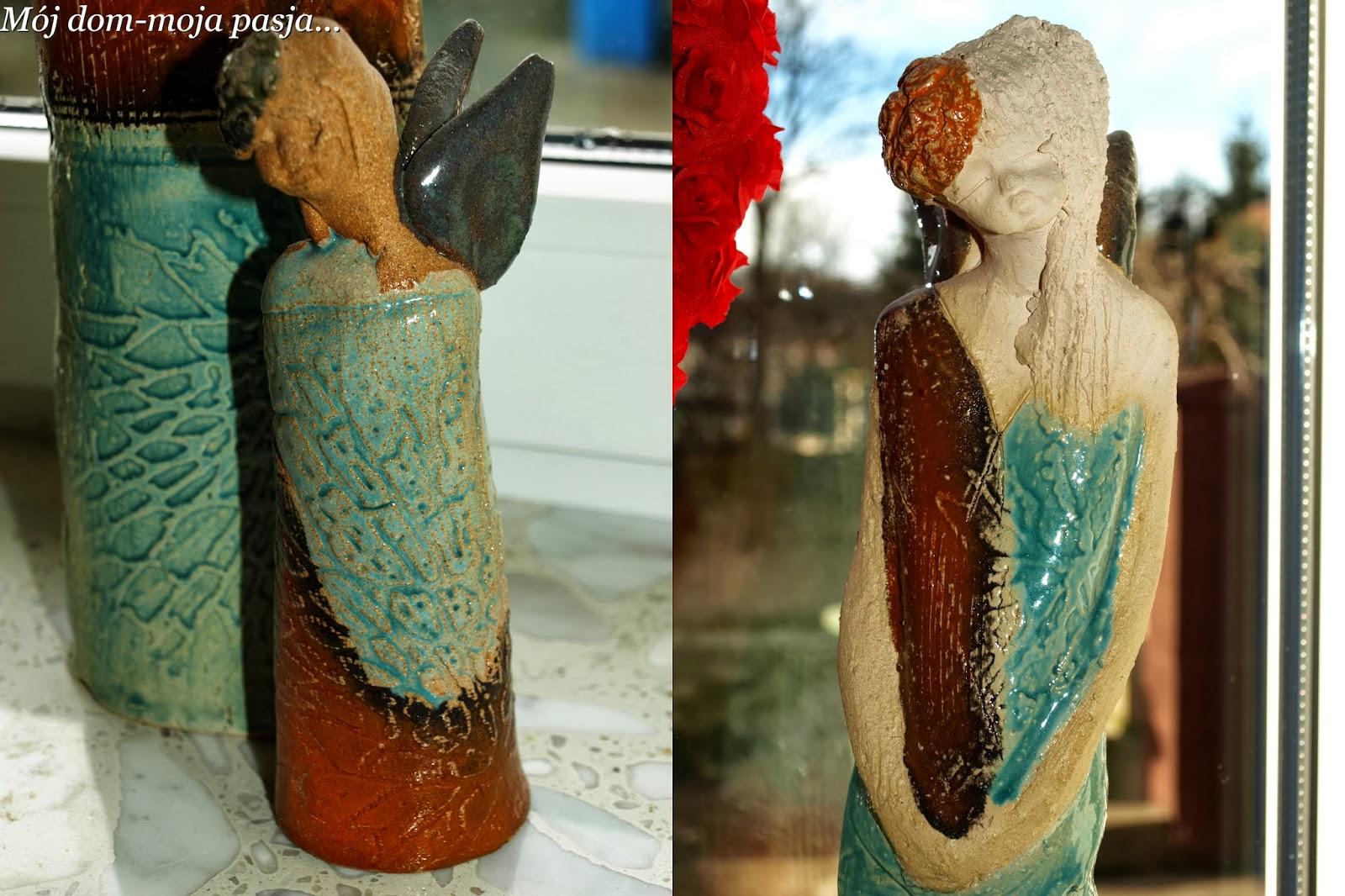 ceramika szamotowa, anioł