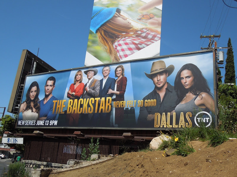 New Dallas bilboard