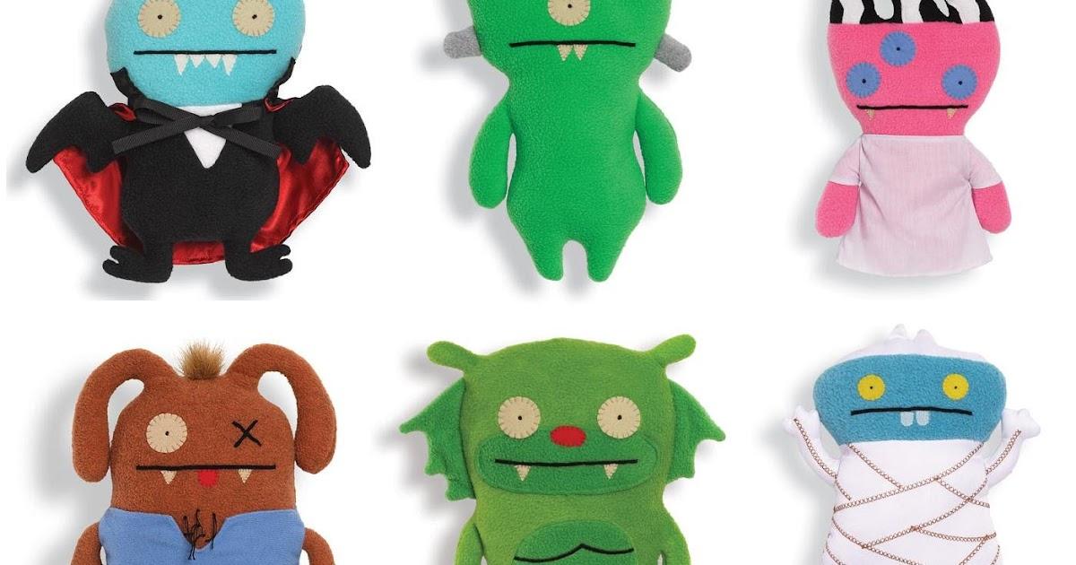 The Blot Says Universal Monsters X Uglydoll Plush Figures