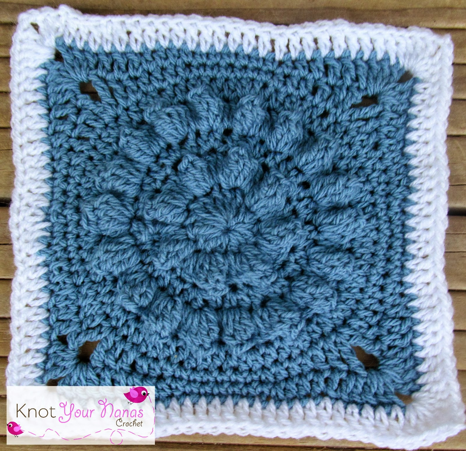 Knot Your Nana\'s Crochet: Granny Square CAL (Week 26)