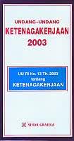 UU Ketenagakerjaan 2003
