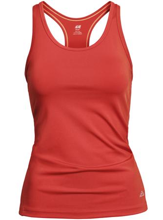 camiseta deportiva tirantes mujer