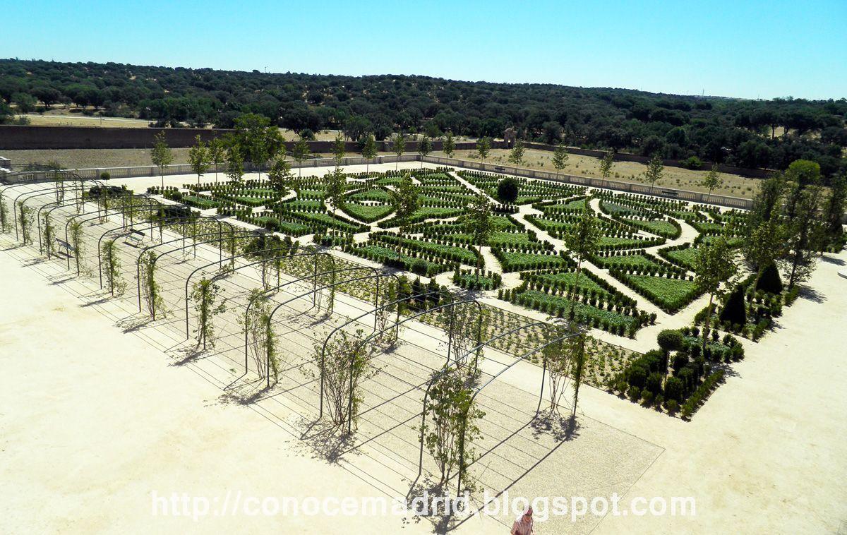 Conocer madrid jardines del palacio del infante don luis for Jardines 15 madrid