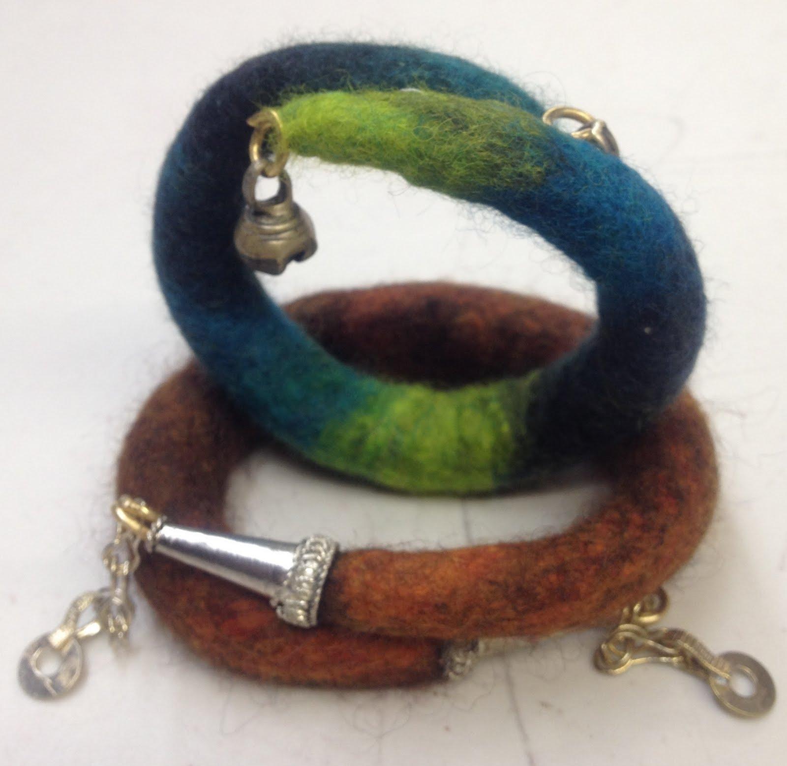 Felt bracelets 99