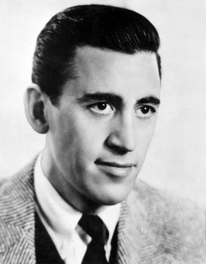 A portrait of J.D Salinger
