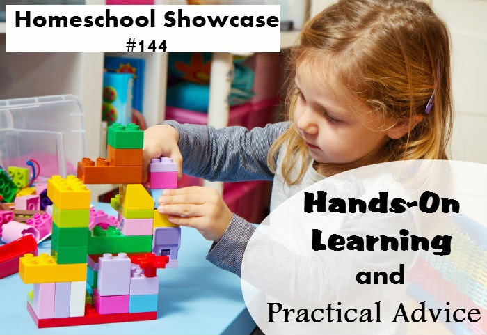 This edition of the Homeschool Showcase is full of fun hands-on lessons and some encouragement from other moms.