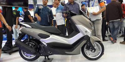 Skuter NMAX Buatan Yamaha Varian Baru Terbaik