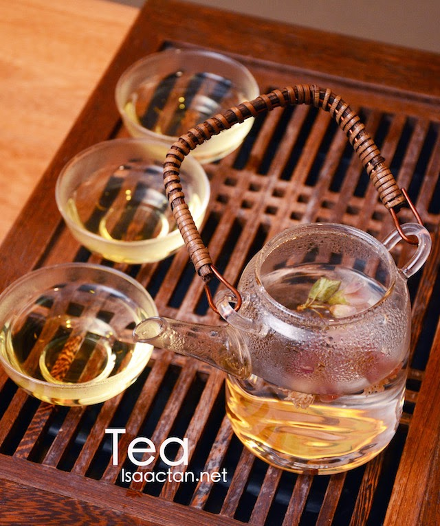 Tea - ranges from RM8 and RM9