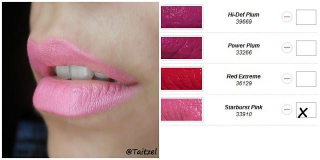 Avon lipstick  Starburst Pink  ruj roz deschis